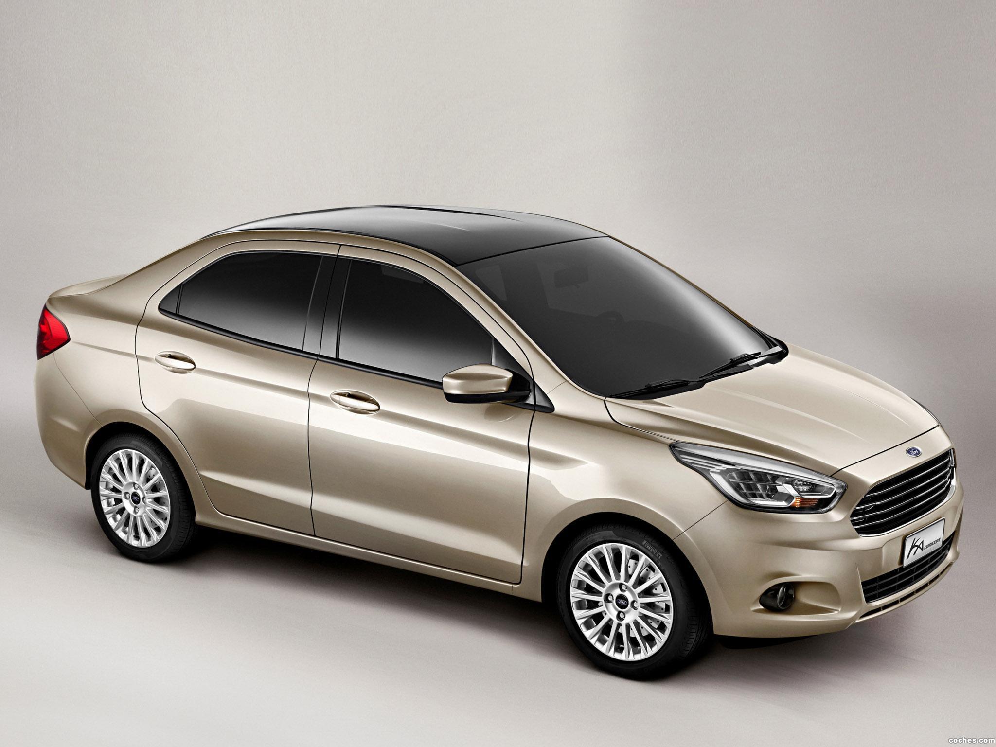 Foto 3 de Ford Ka Sedan Concept 4 puertas 2014