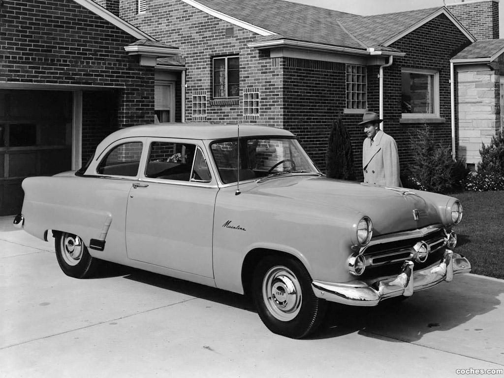 Foto 0 de Ford Mainline Sedan 70A 2 puertas 1952