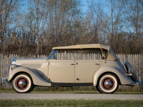 Ver foto 2 de Ford Model 48 Deluxe Phaeton 1935