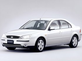 Fotos de Ford Mondeo Sedan Japón 2000