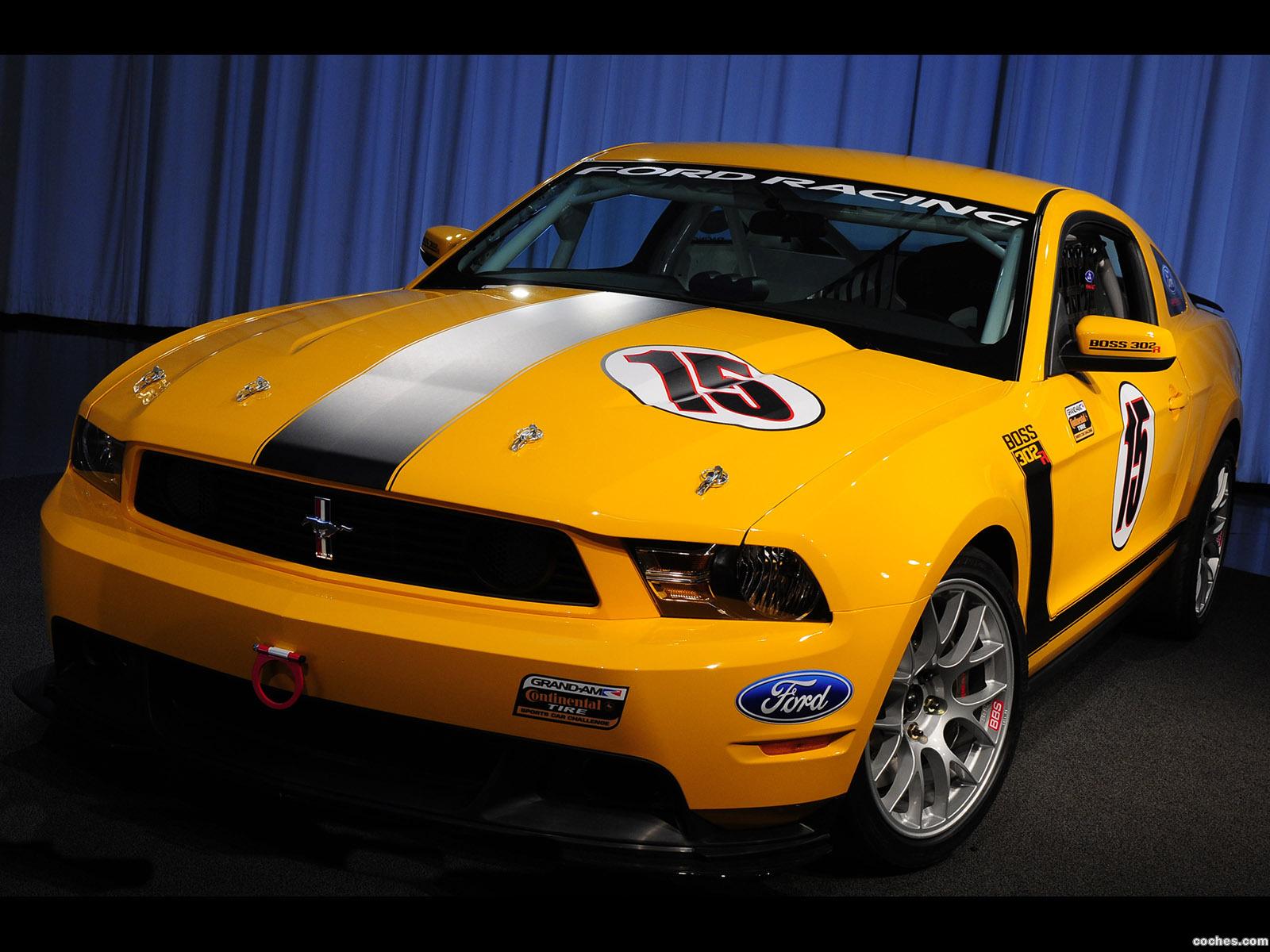 Foto 0 de Ford Mustang BOSS 302R 2010