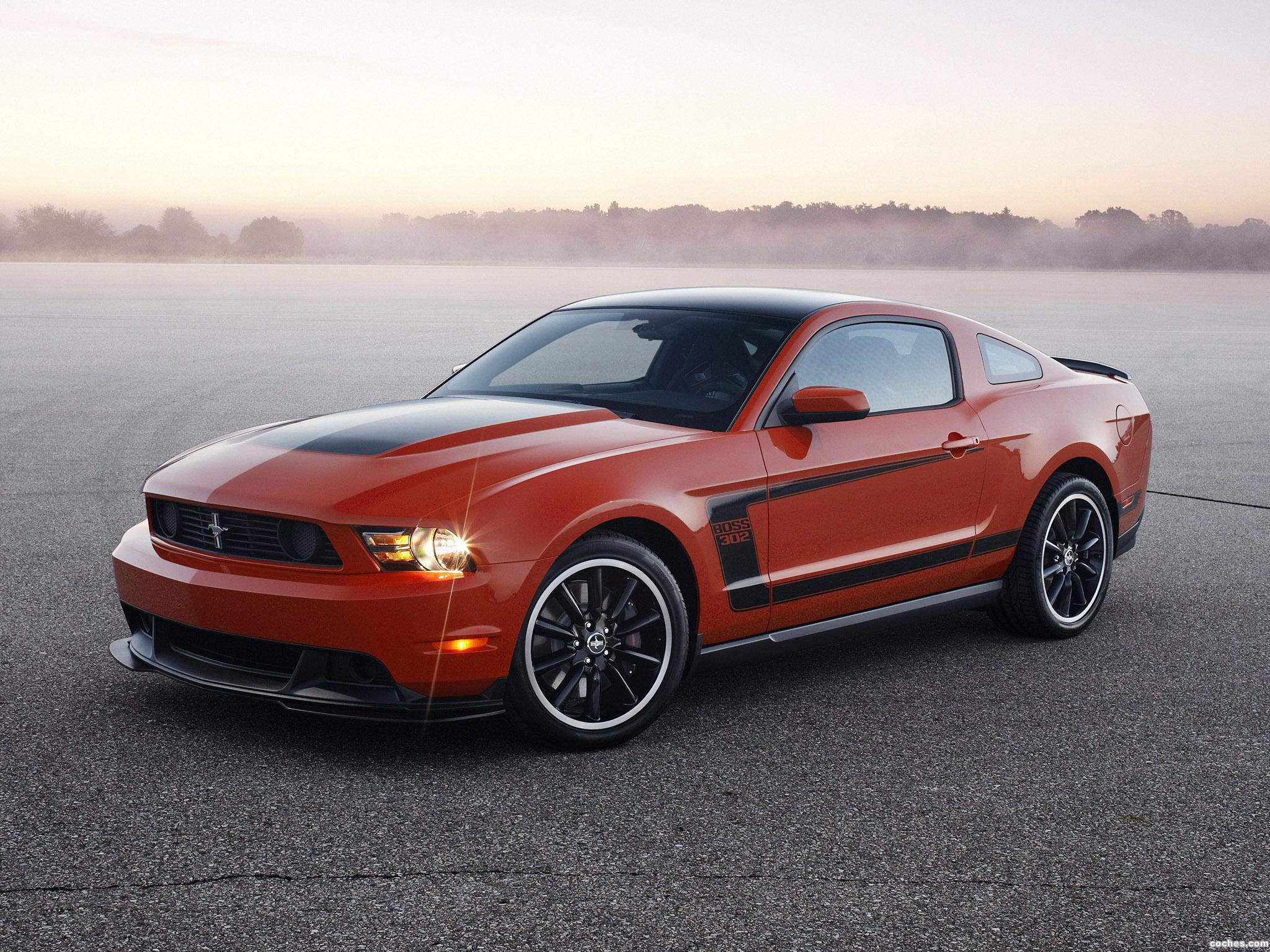 Foto 0 de Ford Mustang Boss 302 2010