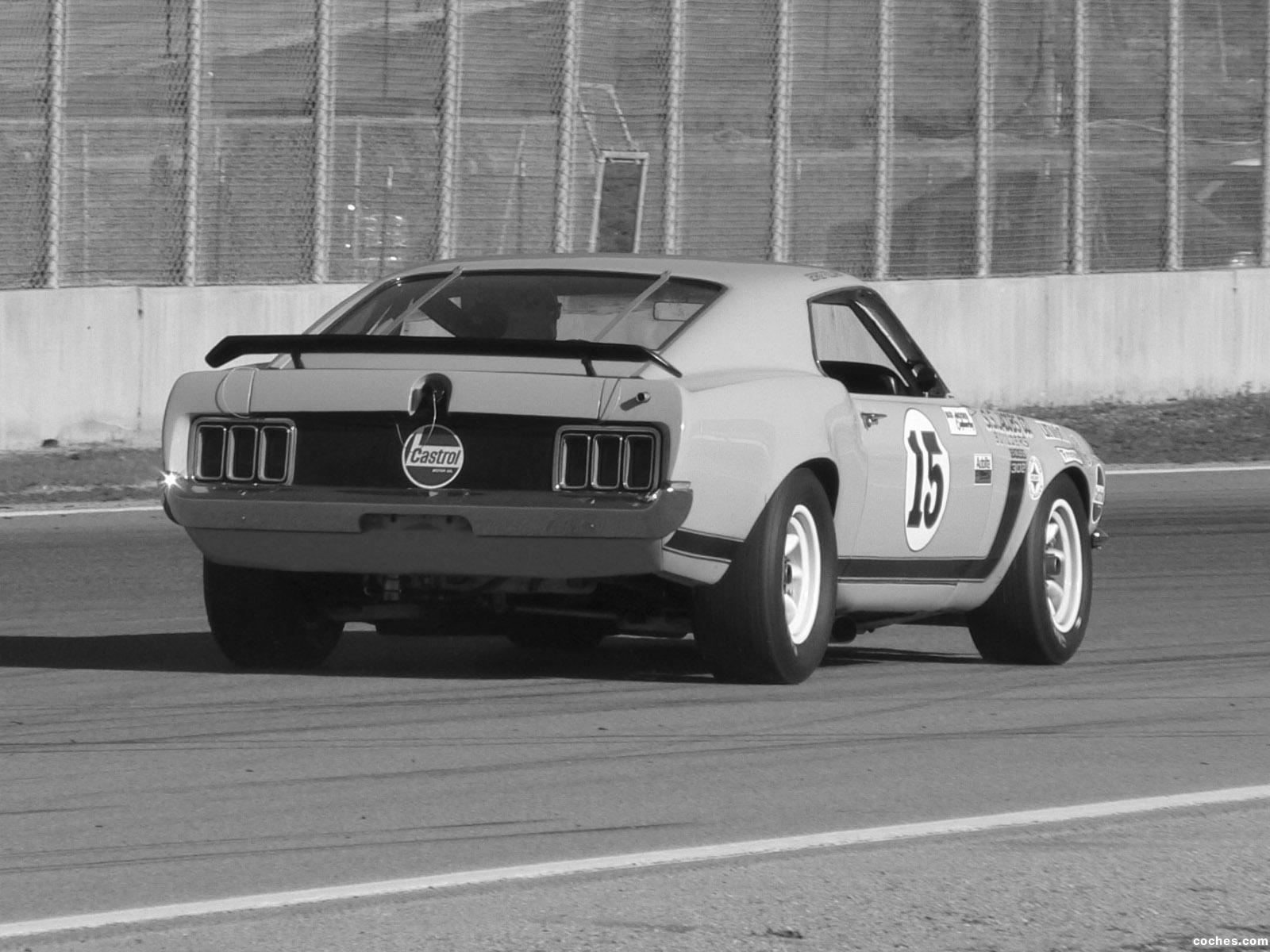 Foto 15 de Ford Mustang Boss 302 Trans Am Race Car  1970