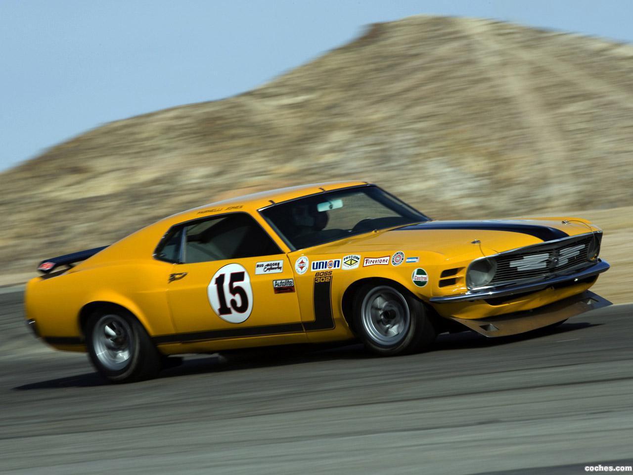 Foto 14 de Ford Mustang Boss 302 Trans Am Race Car  1970