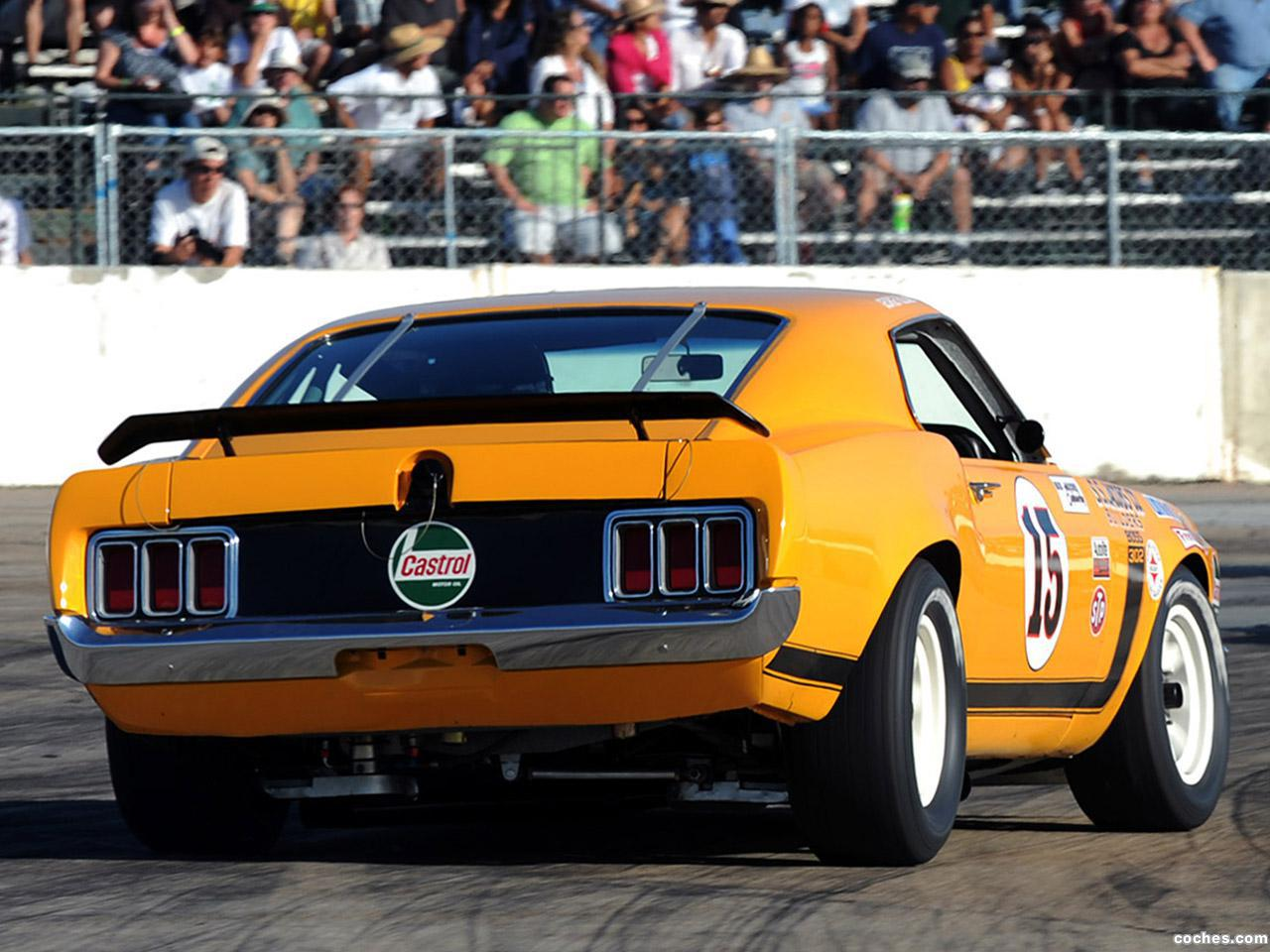 Foto 13 de Ford Mustang Boss 302 Trans Am Race Car  1970