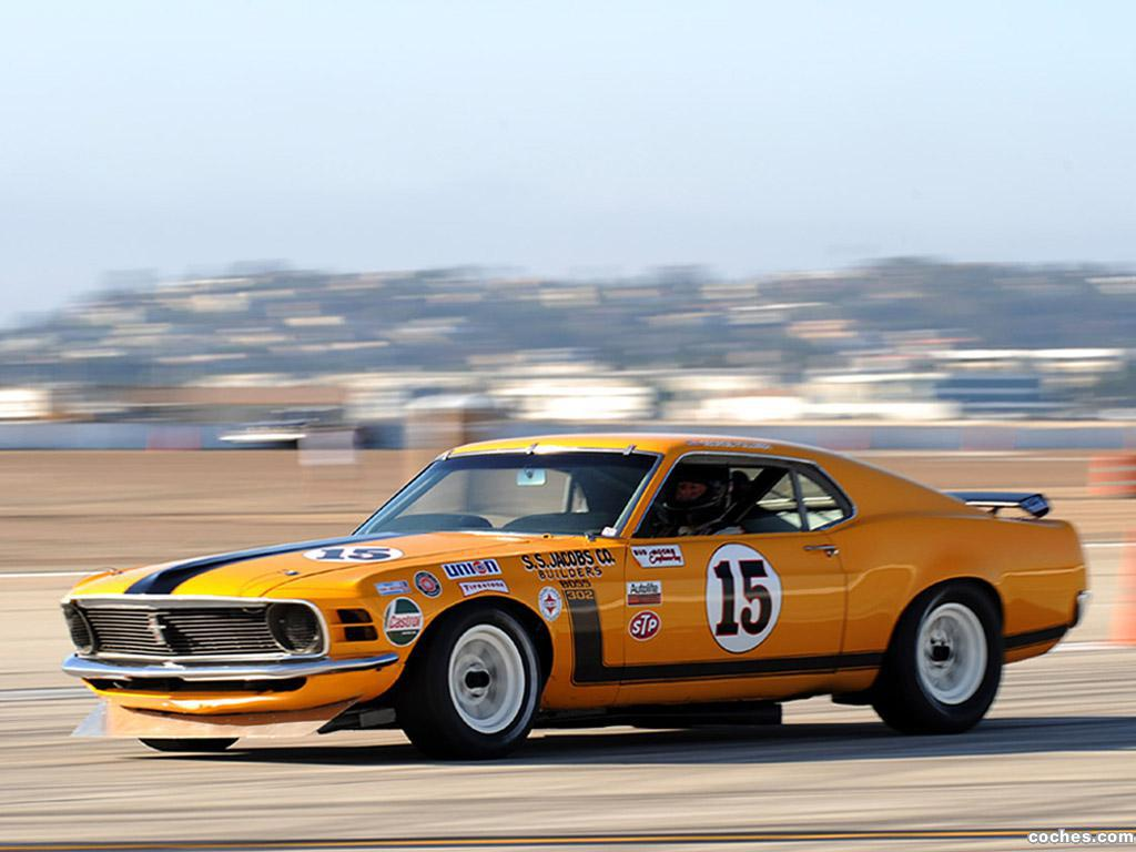 Foto 12 de Ford Mustang Boss 302 Trans Am Race Car  1970