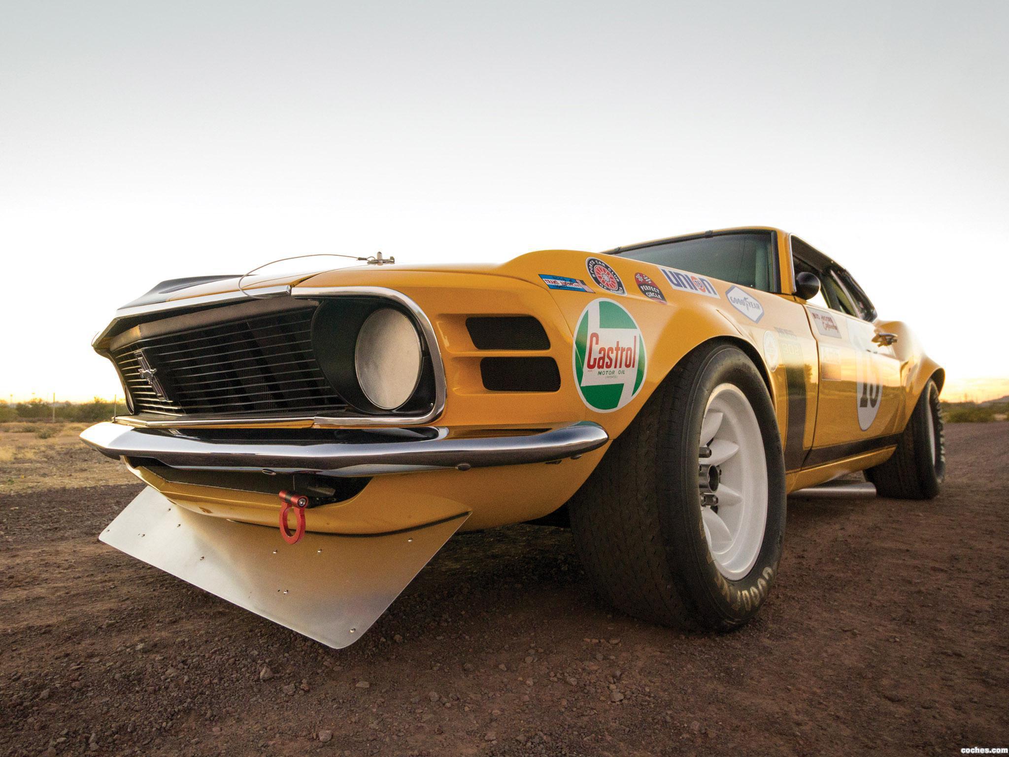 Foto 6 de Ford Mustang Boss 302 Trans Am Race Car  1970