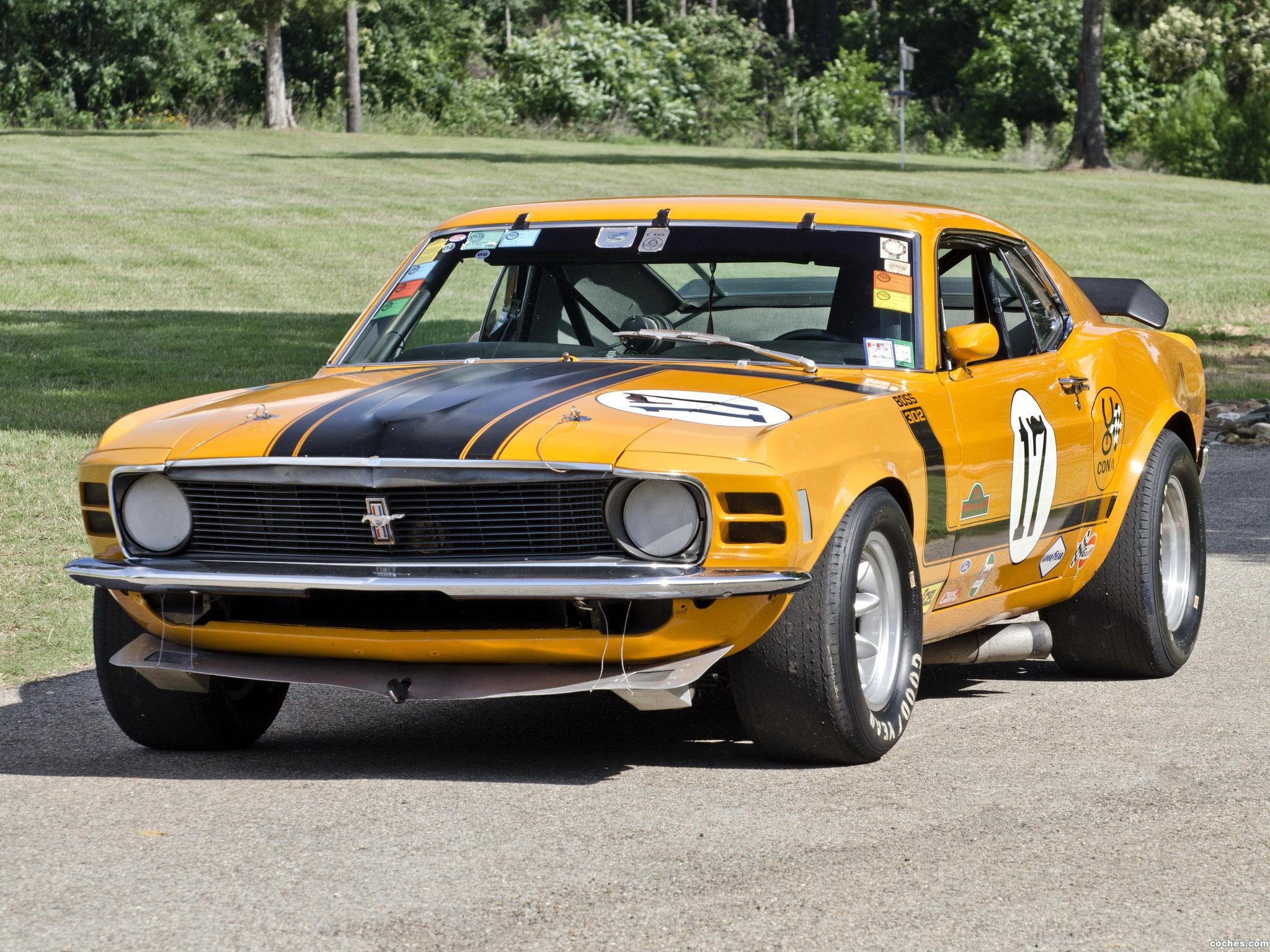 Foto 5 de Ford Mustang Boss 302 Trans Am Race Car  1970