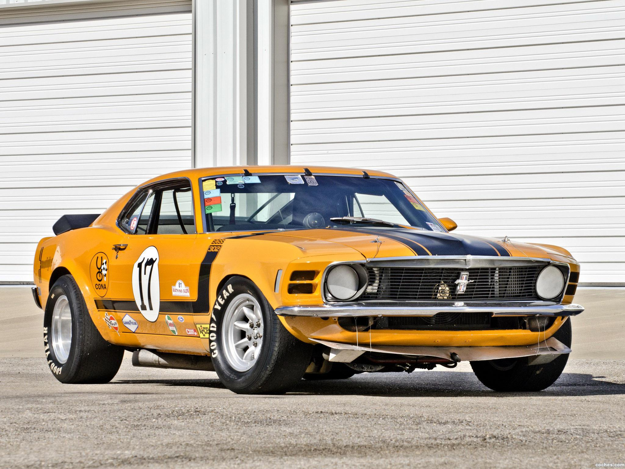 Foto 2 de Ford Mustang Boss 302 Trans Am Race Car  1970