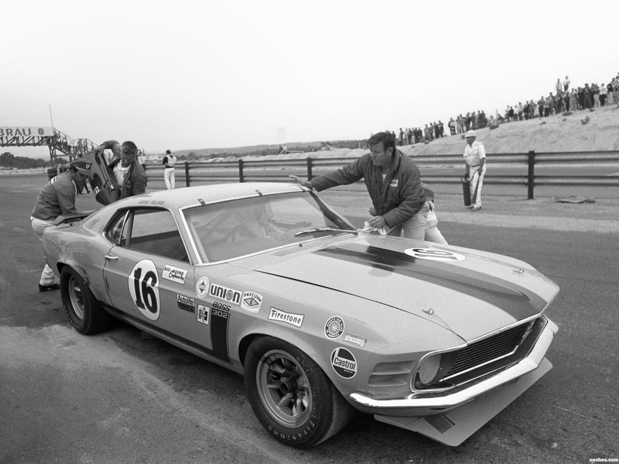 Foto 0 de Ford Mustang Boss 302 Trans Am Race Car  1970