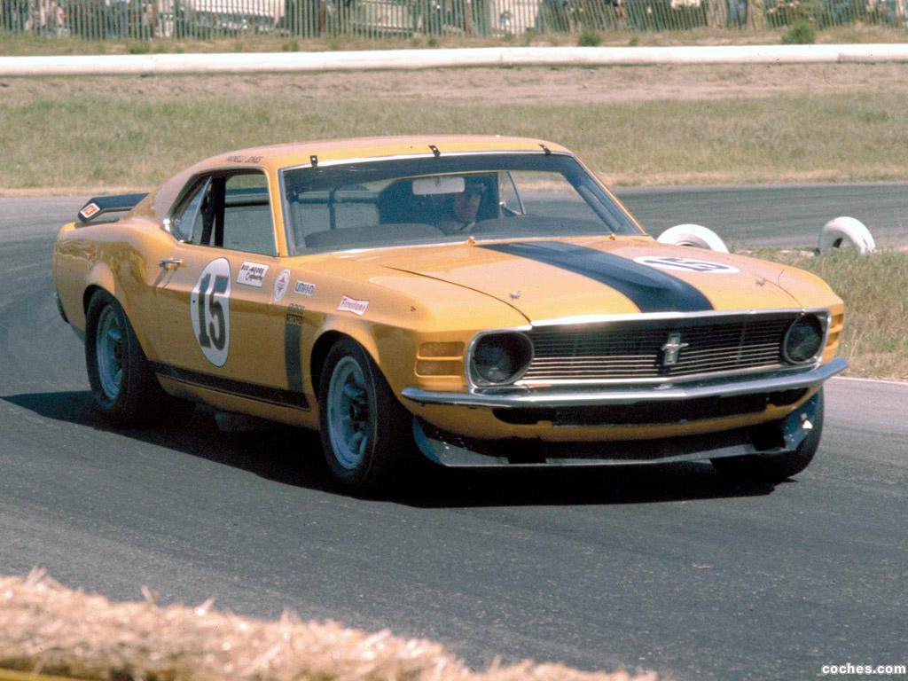 Foto 16 de Ford Mustang Boss 302 Trans Am Race Car  1970