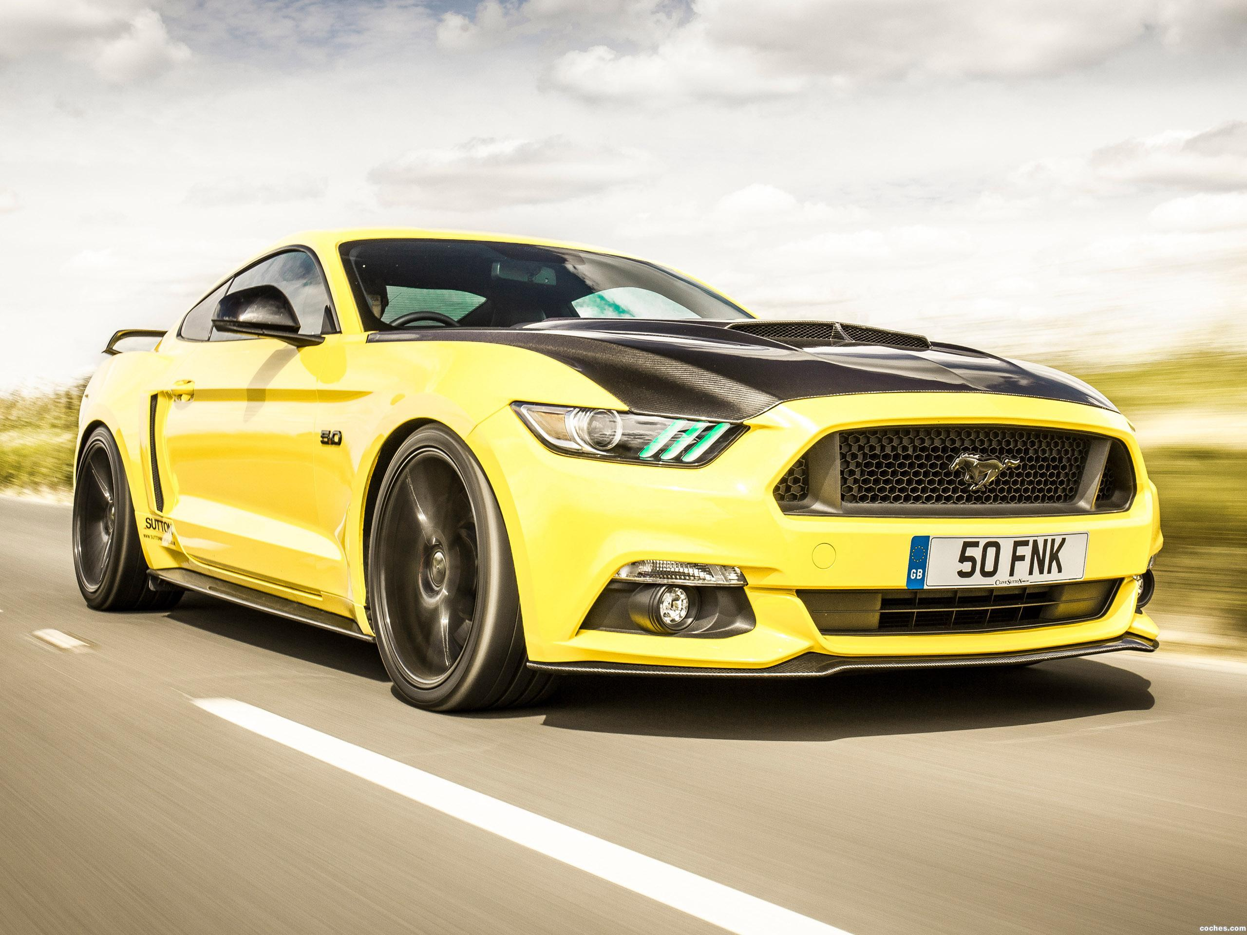 Foto 0 de Ford Mustang Clive Sutton CS700 2016
