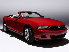 Ver foto 3 de Ford Mustang Convertible 2010