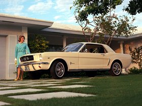 Ver foto 2 de Ford Mustang Coupe 1964