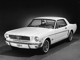 Fotos de Ford Mustang Coupe 1964
