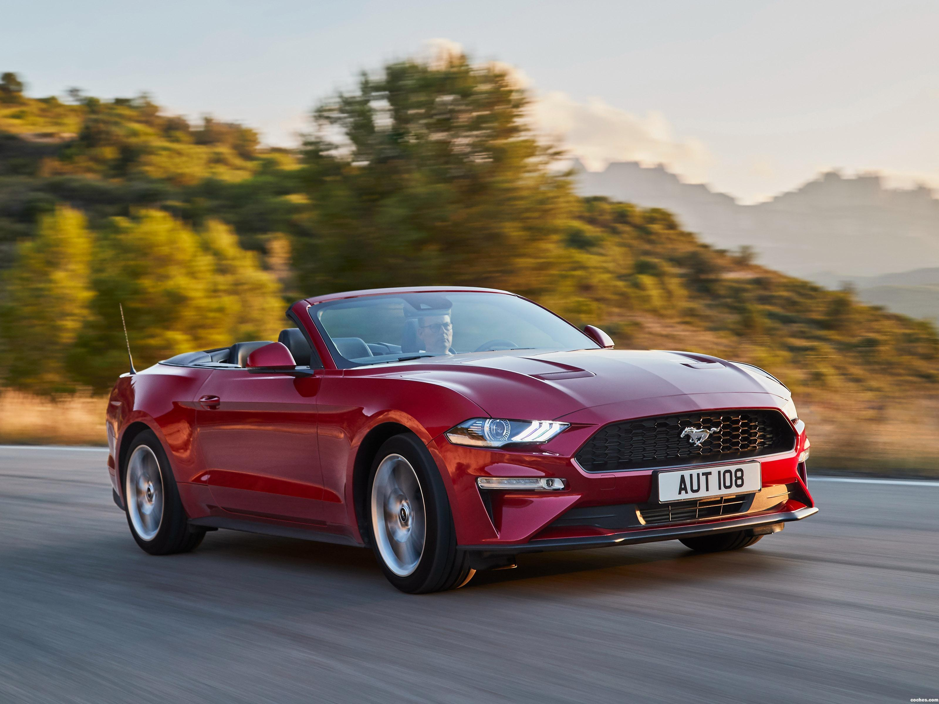 Foto 0 de Ford Mustang Ecoboost Convertible 2017