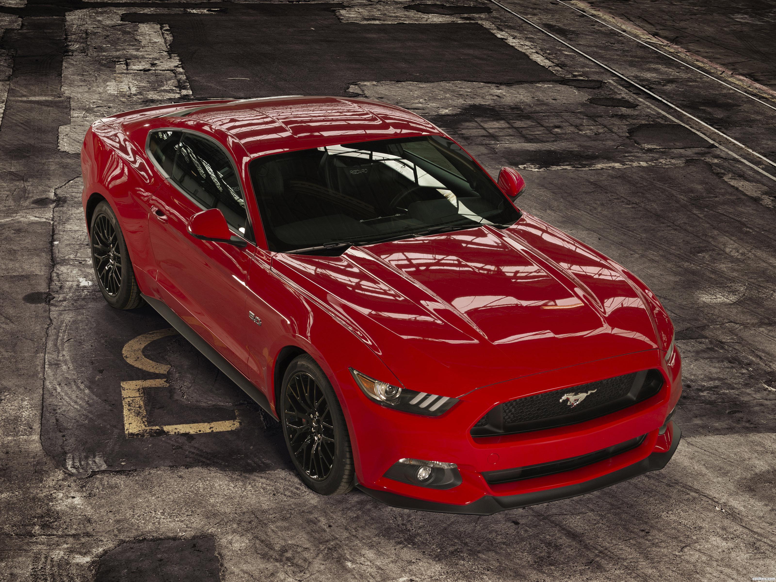 Foto 0 de Ford Mustang GT Europa 2015