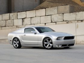 Fotos de Ford Mustang Iacocca 45th Anniversary Silver Edition 2009