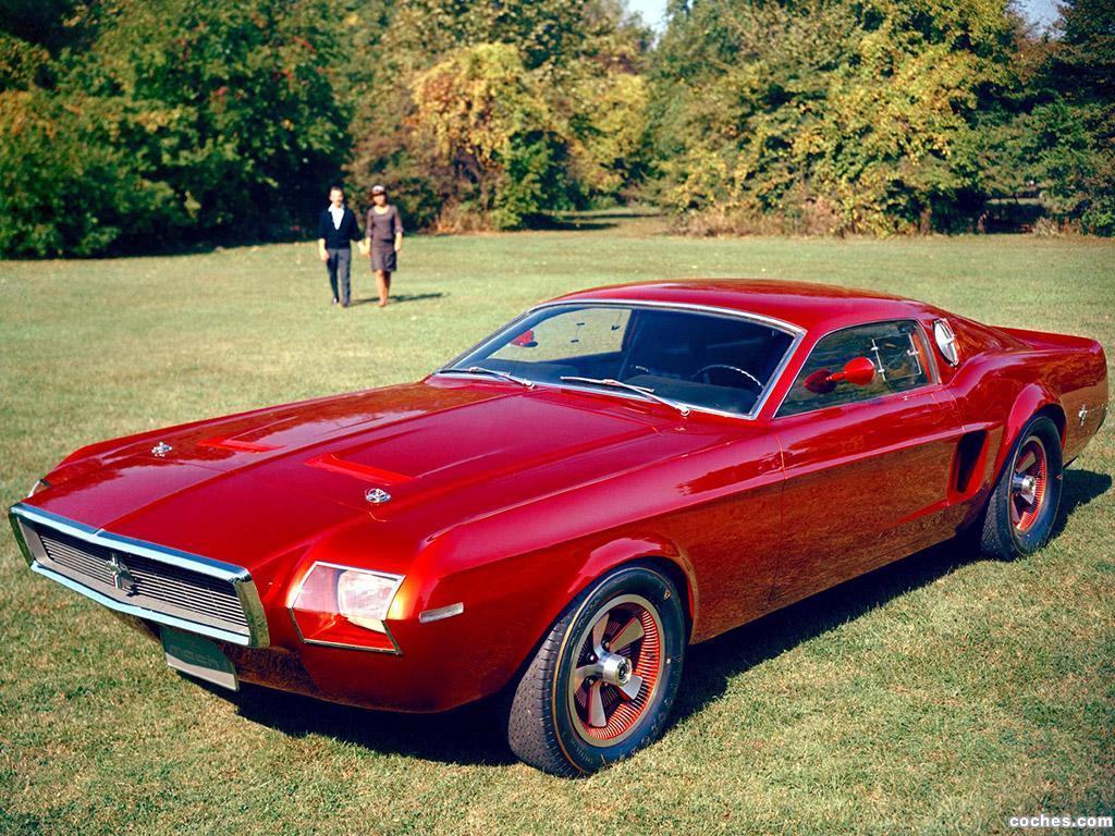Foto 0 de Ford Mustang Mach 1 Prototype No1 1965