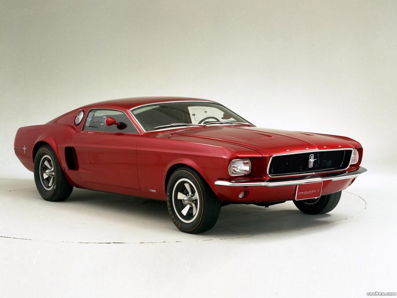 Foto 0 de Ford Mustang Mach 1 Prototype No2 1965
