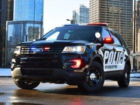 Fotos de Ford Explorer Police Interceptor Utility U502 2015