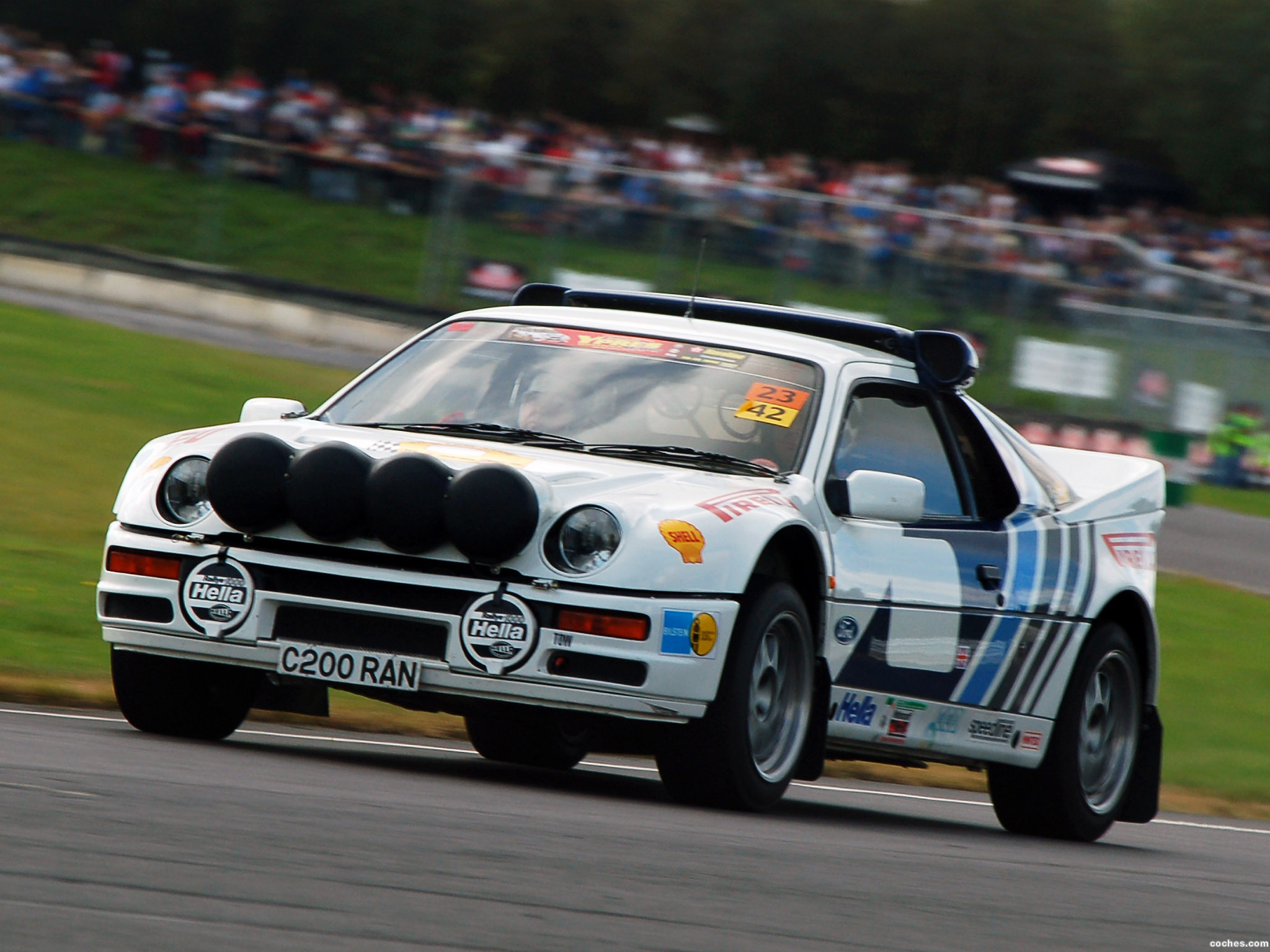 Foto 0 de Ford RS200 Group B Rally Car