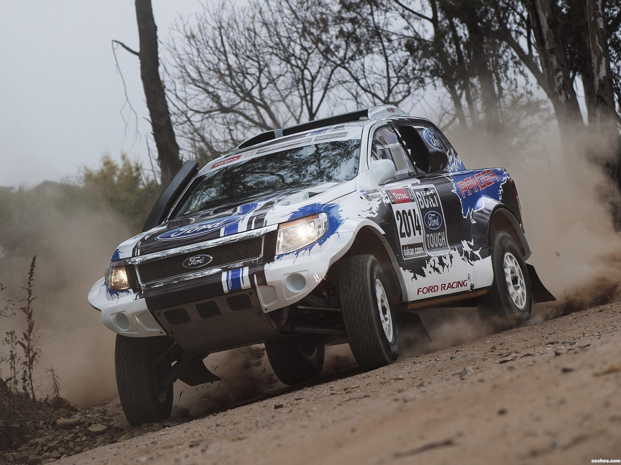 Foto 0 de Ford Ranger Dakar Rally 2014