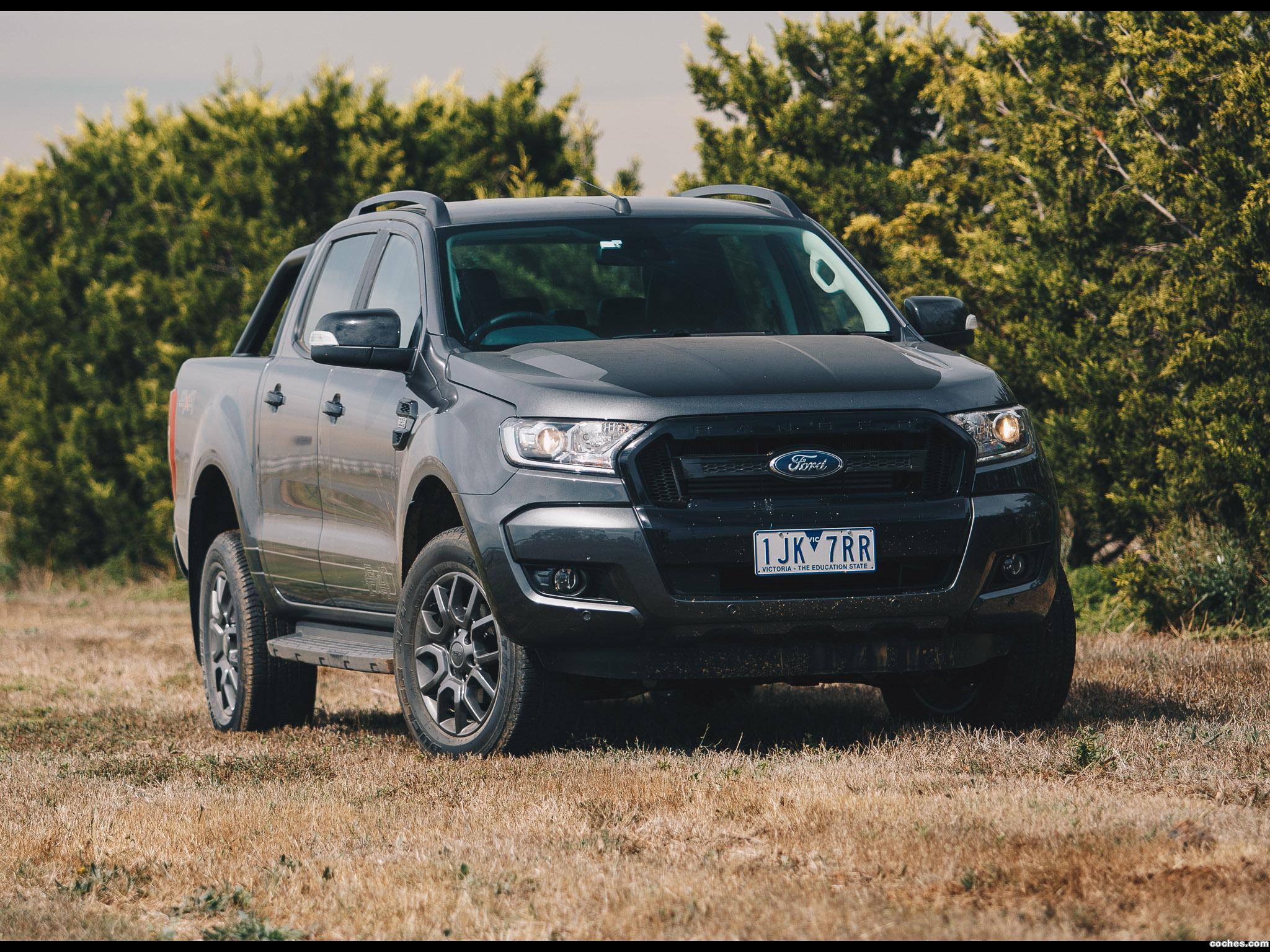 Foto 1 de Ford Ranger Double Cab FX4 Australia 2017