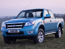 Fotos de Ford Ranger Extended Cab UK 2009