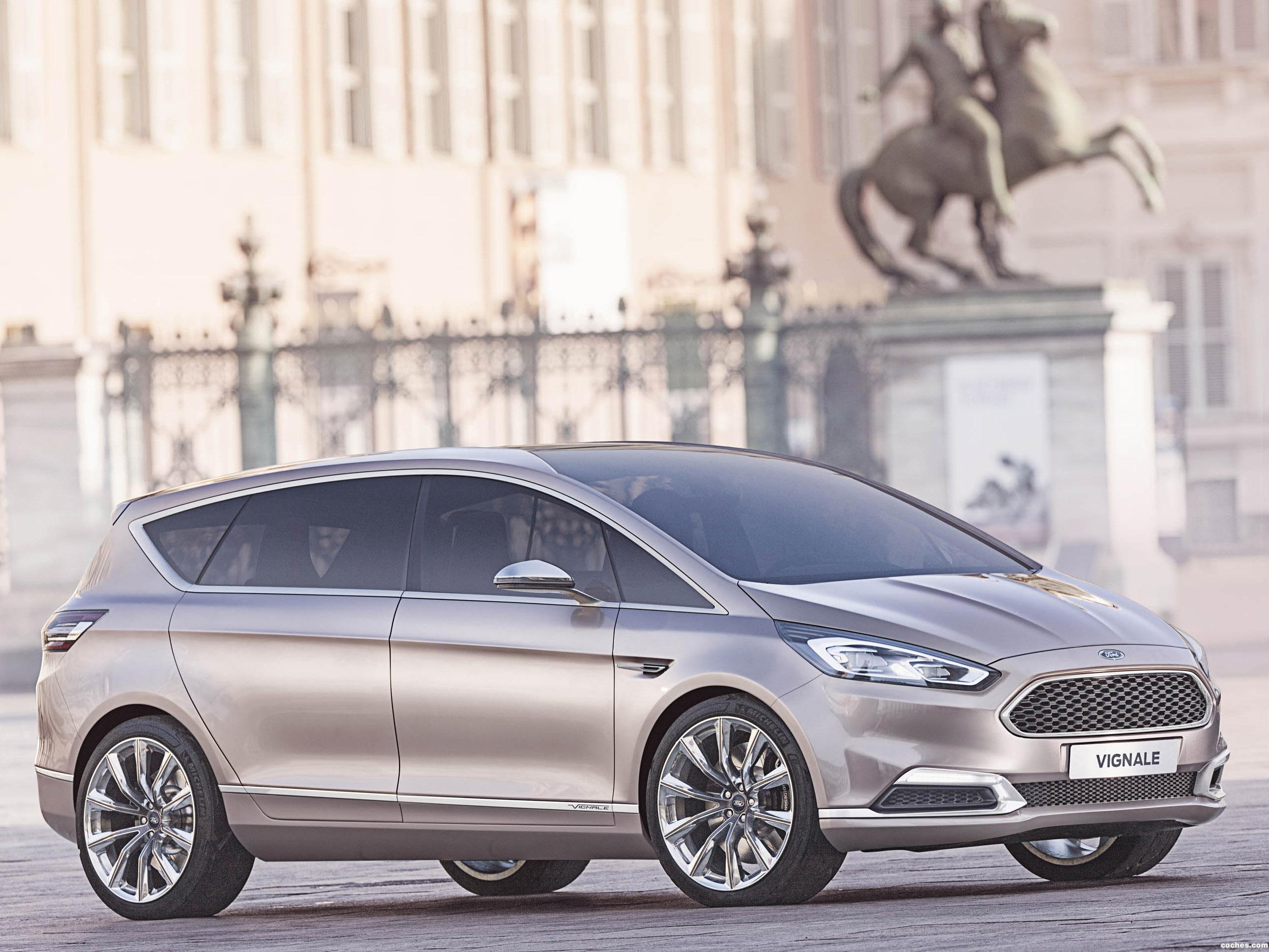 Foto 0 de Ford S-MAX Vignale Concept 2014