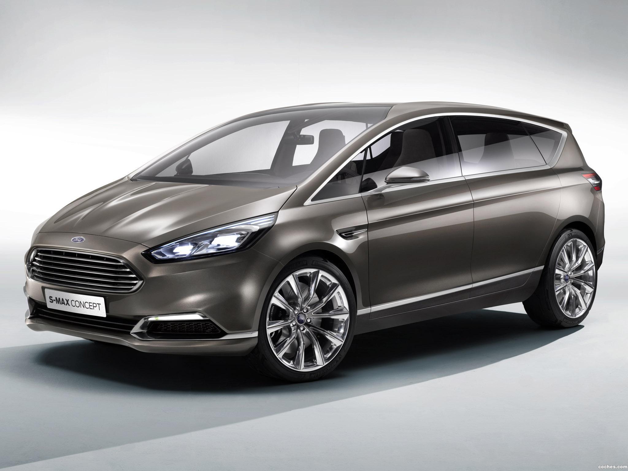 Foto 0 de Ford S-MAX Concept 2013