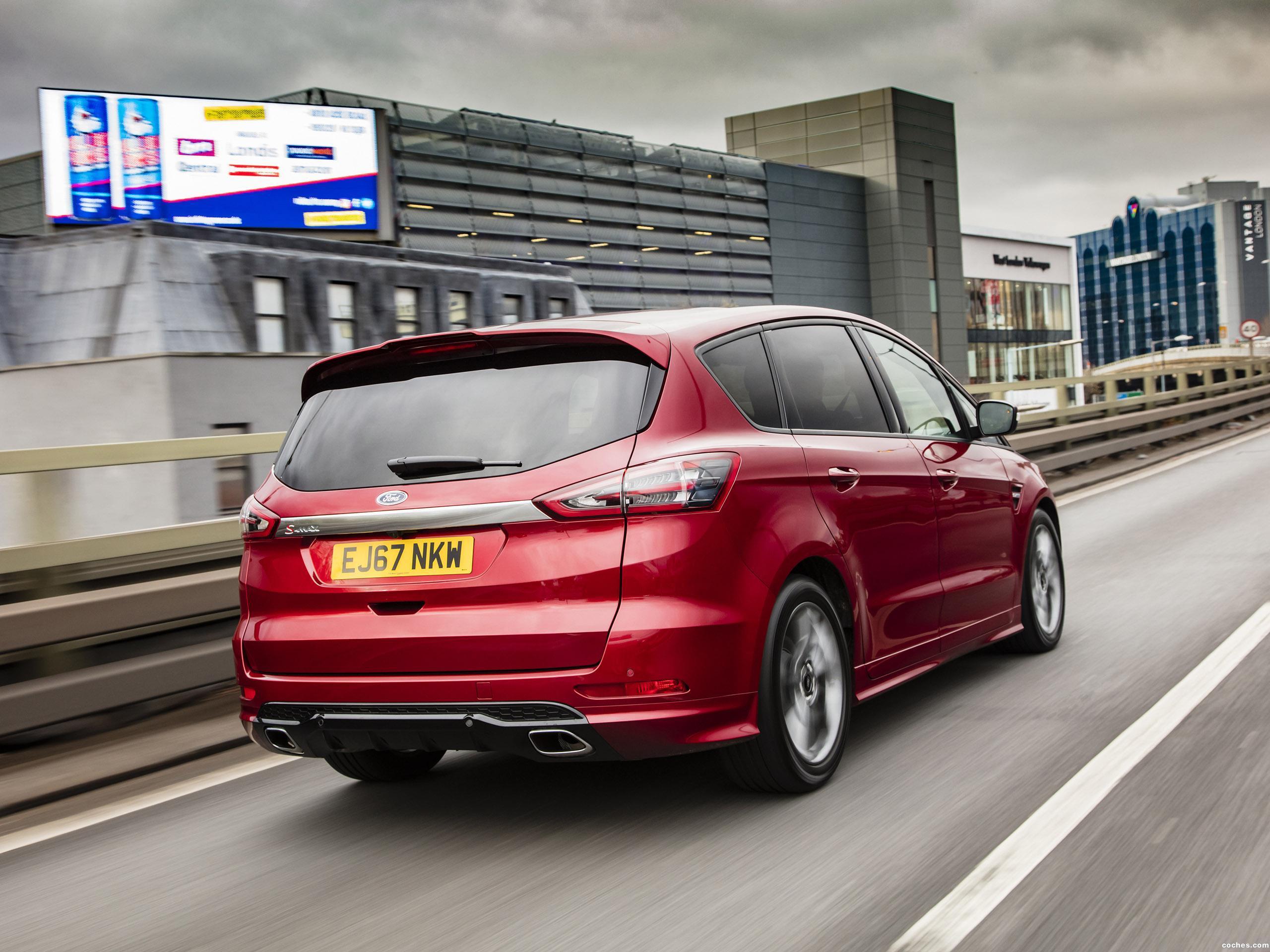 Foto 4 de Ford S-Max ST Line UK 2017