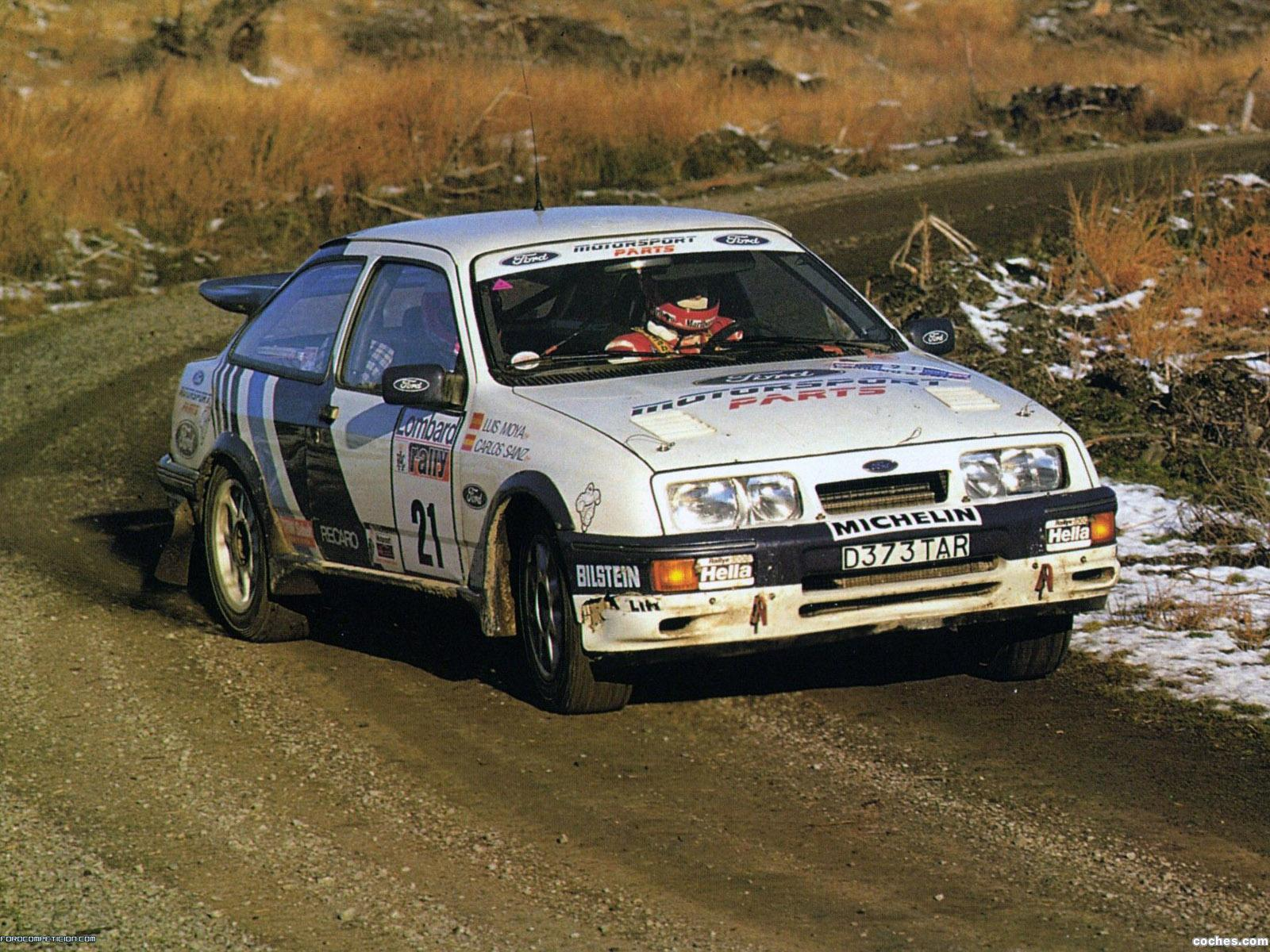 Foto 0 de Ford Sierra RS Cosworth Group A Rally Rar 1987