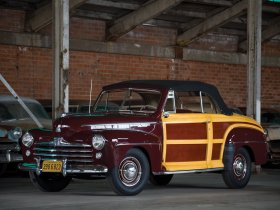 Ver foto 2 de Ford Super Deluxe Sportsman Convertible 1947