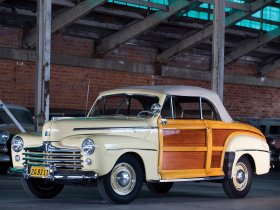 Ver foto 7 de Ford Super Deluxe Sportsman Convertible 1947