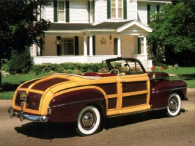 Ver foto 4 de Ford Super Deluxe Sportsman Convertible 1947