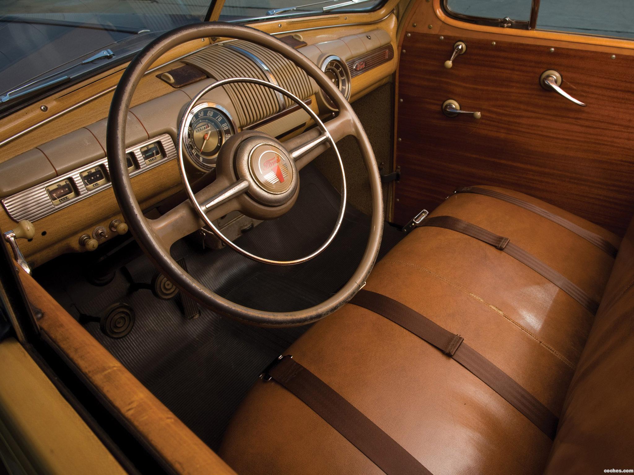 Foto 9 de Ford Super Deluxe Station Wagon 1947