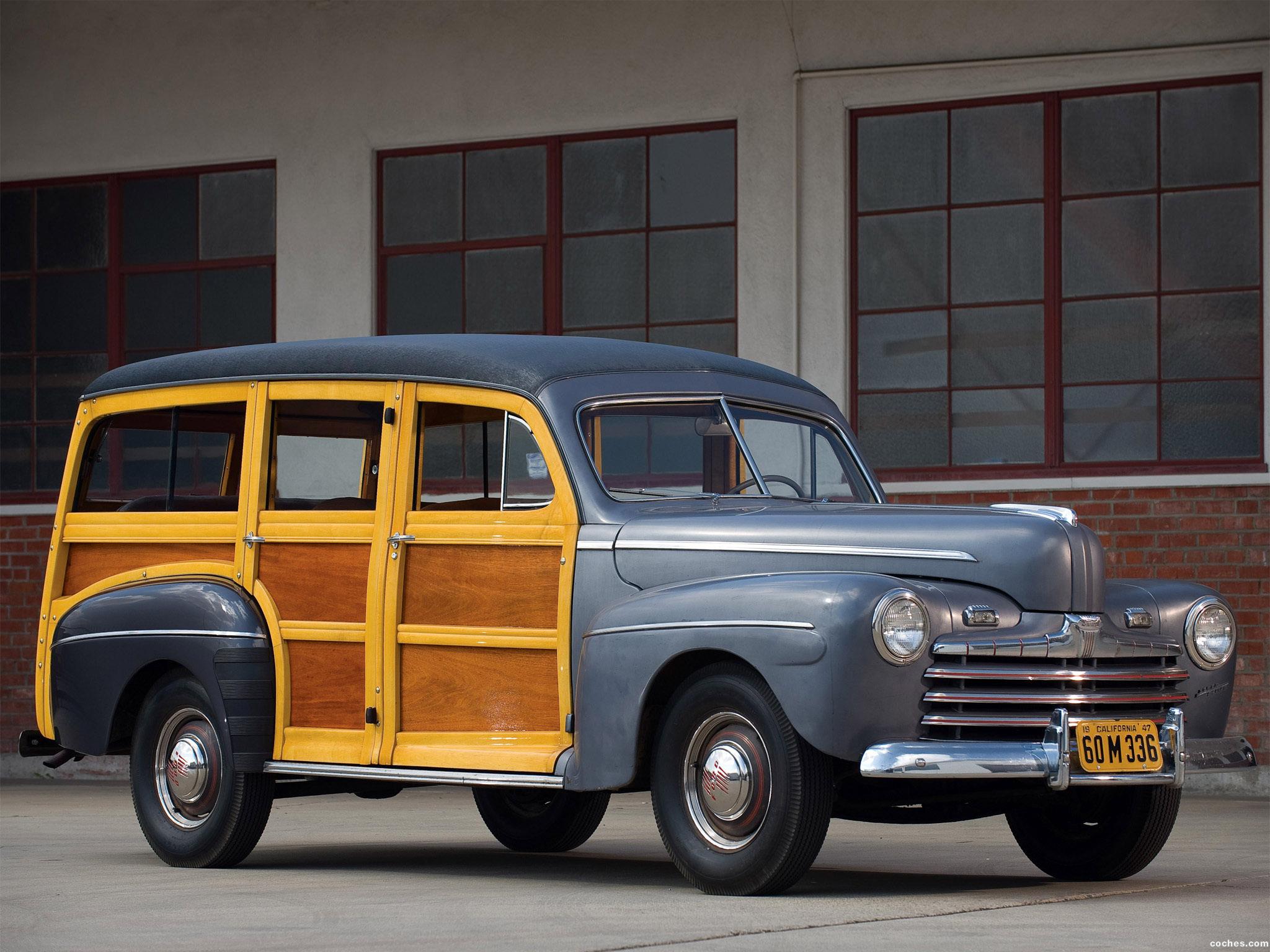 Foto 3 de Ford Super Deluxe Station Wagon 1947