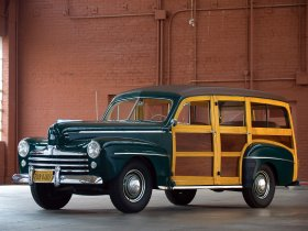 Ver foto 1 de Ford Super Deluxe Station Wagon 1947
