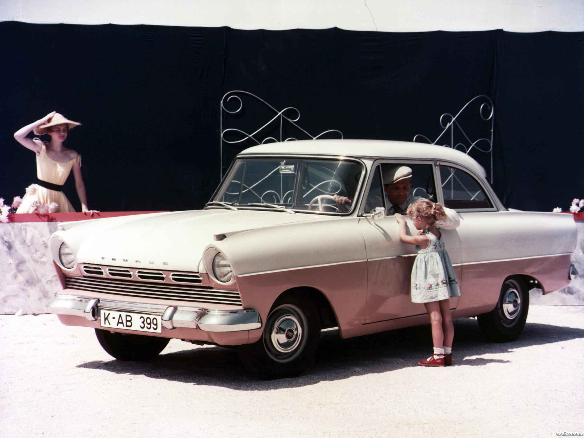 Foto 0 de Ford Taunus 17M P2 1957