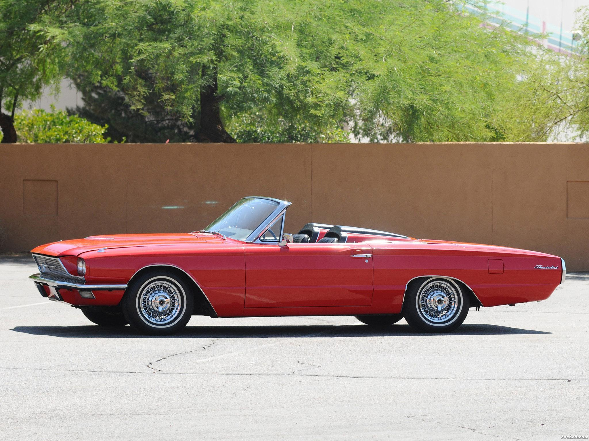 Foto 6 de Ford Thunderbird Convertible 76A 1966