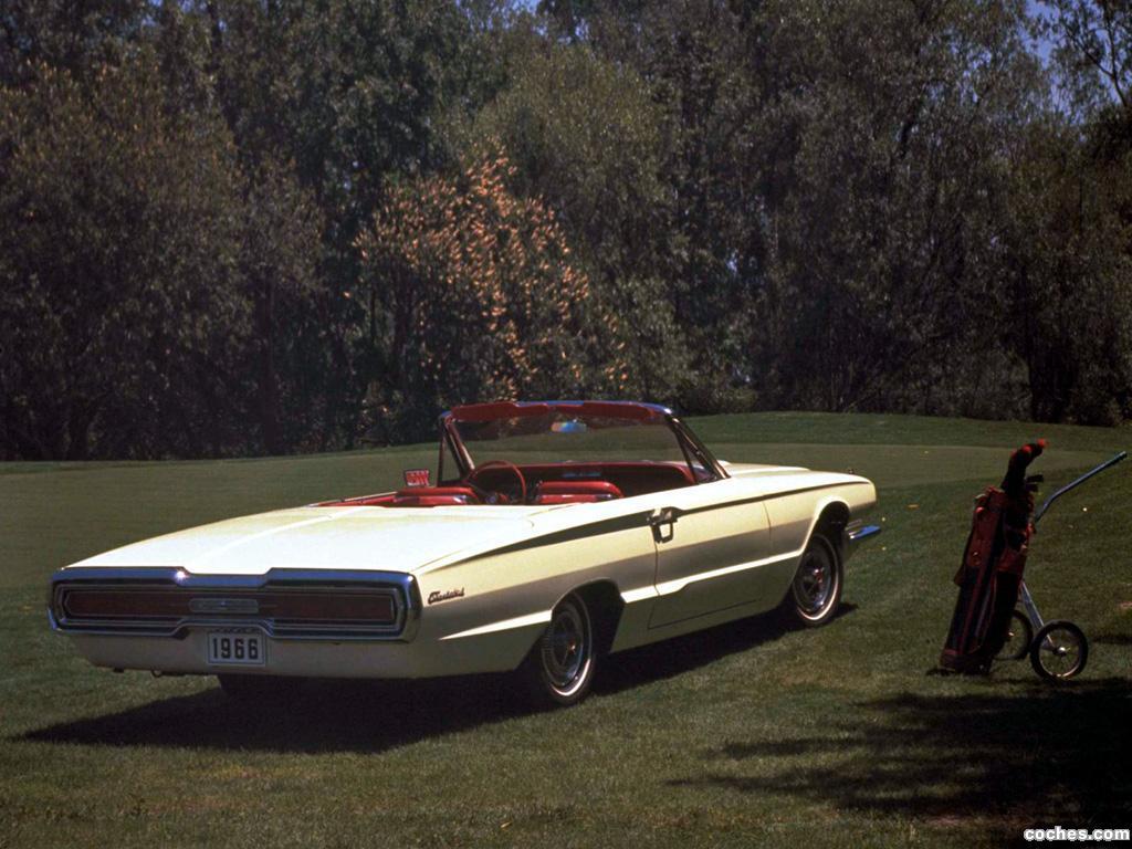 Foto 1 de Ford Thunderbird Convertible 76A 1966