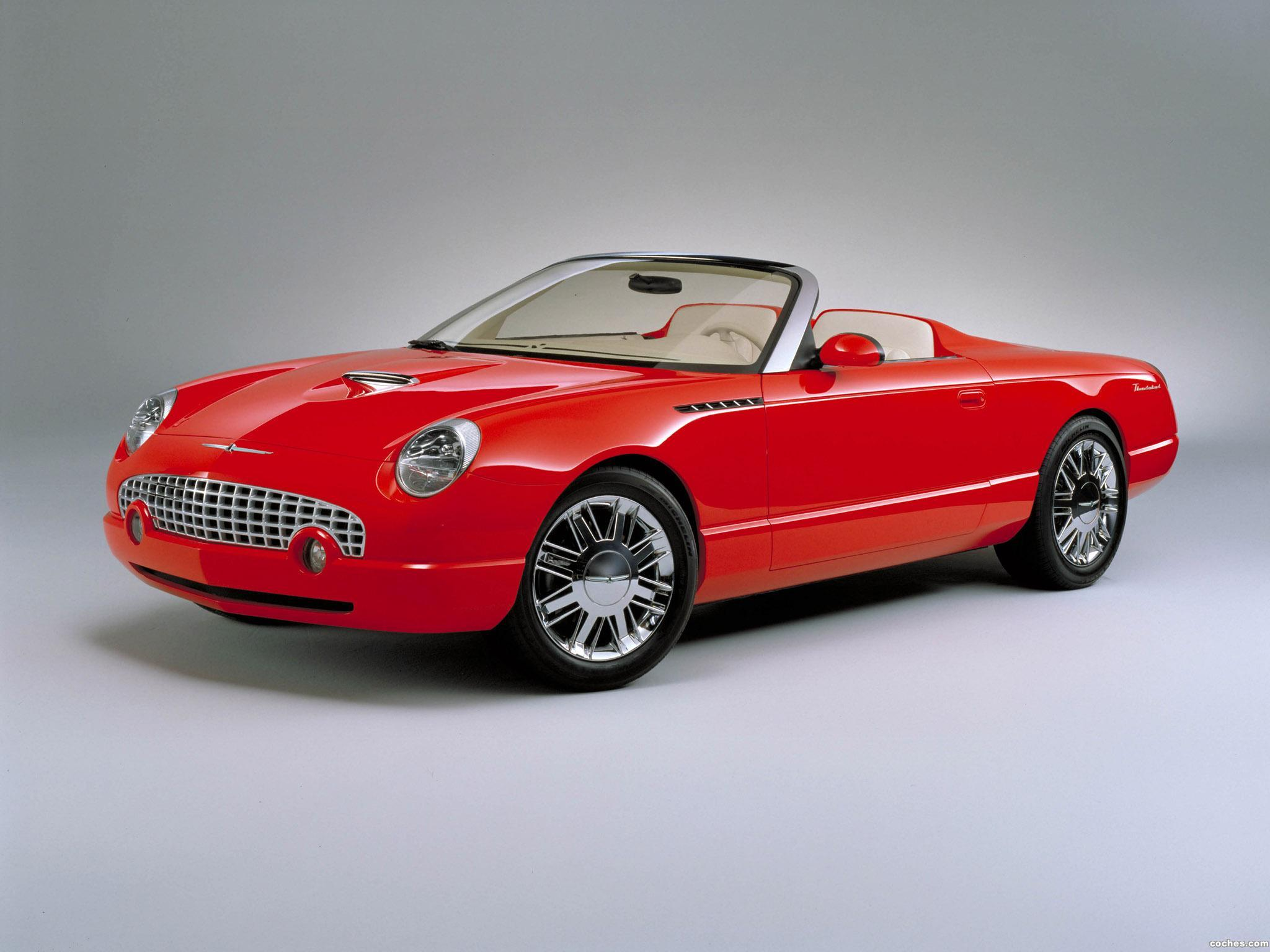 Foto 0 de Ford Thunderbird Sports Roadster Concept 2001