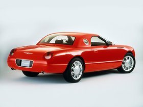 Ver foto 2 de Ford Thunderbird Sports Roadster Concept 2001