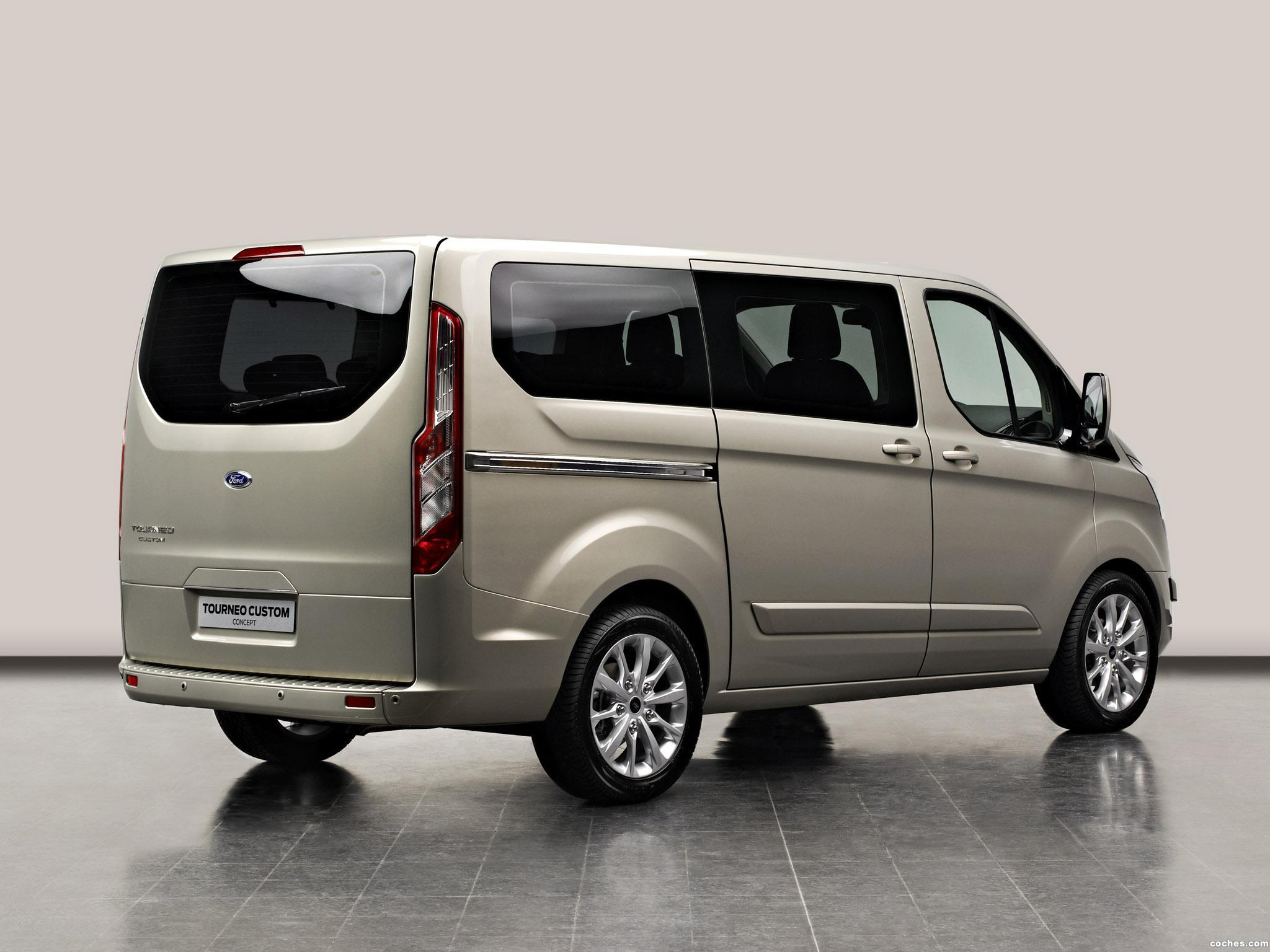 Foto 3 de Ford Tourneo Custom Concept 2012