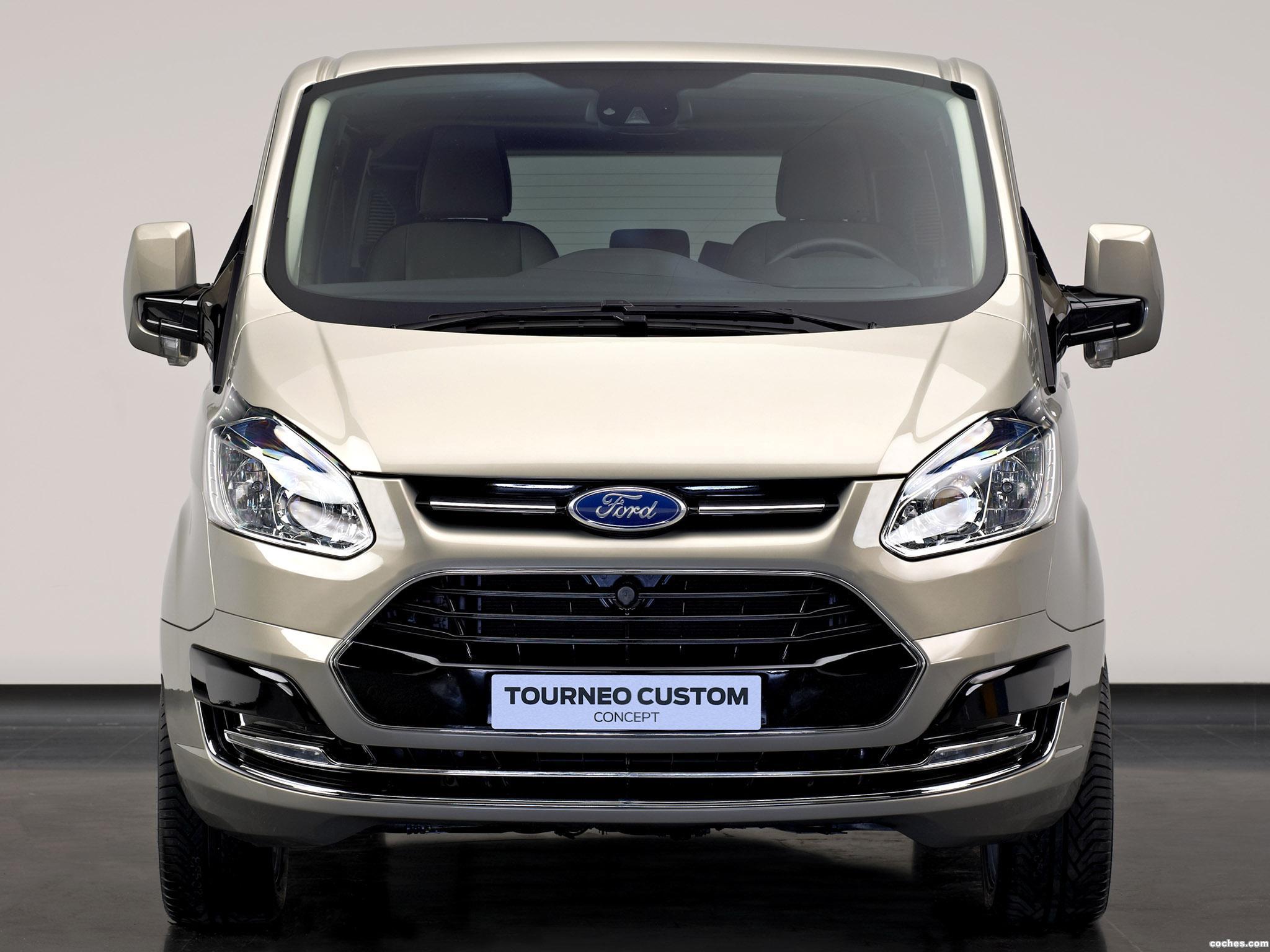 Foto 2 de Ford Tourneo Custom Concept 2012