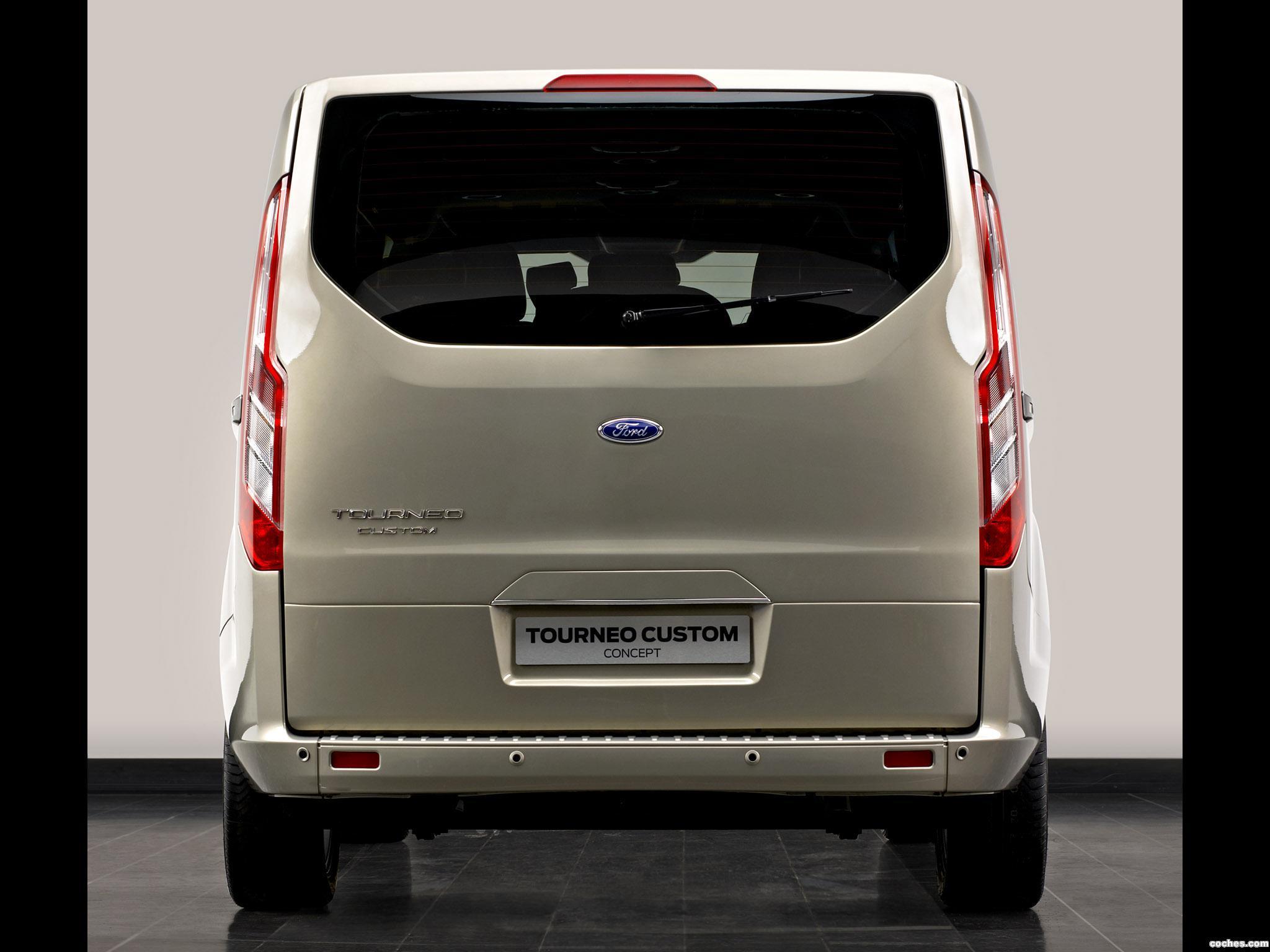 Foto 1 de Ford Tourneo Custom Concept 2012
