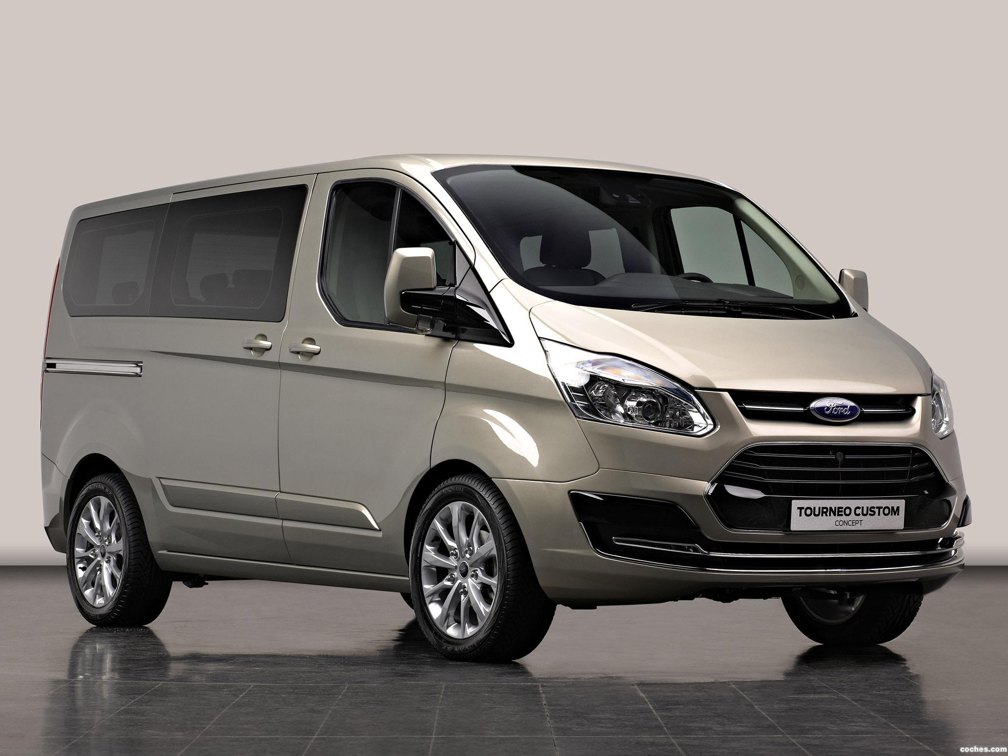 fotos de ford tourneo custom concept 2012. Black Bedroom Furniture Sets. Home Design Ideas