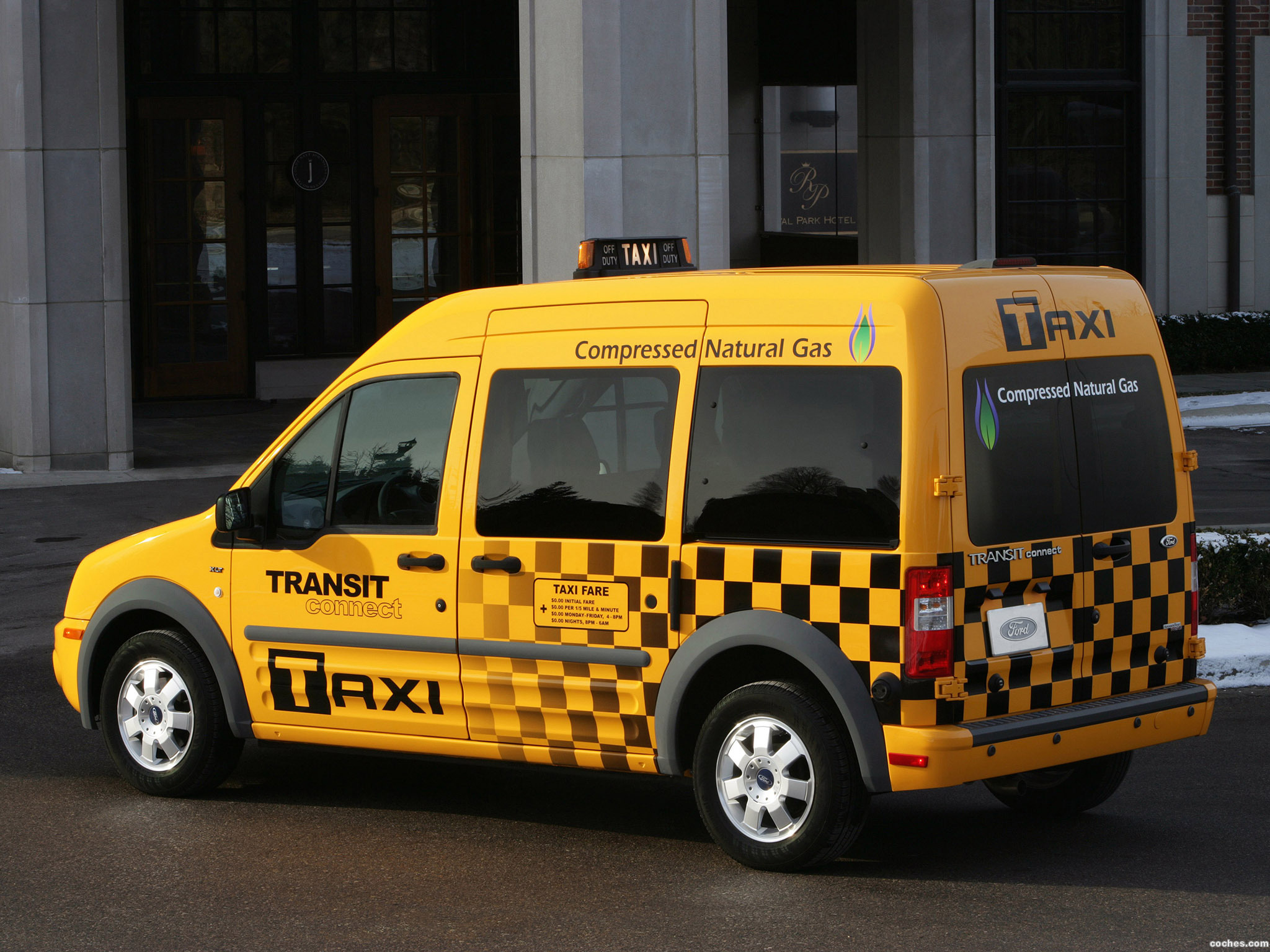 Foto 2 de Ford Transit Connect Taxi 2010