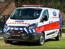 Fotos de Ford Transit Custom Ambulance 2014